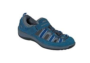 4915f3b750cb Orthofeet 875 Women s Fisherman Sandal Blue