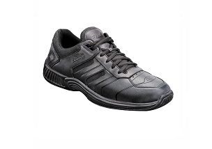 Orthofeet 641 Men's Athletic Lace Black