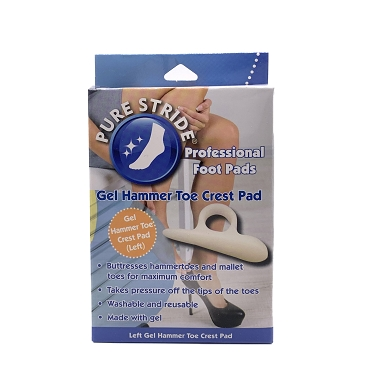 Pure Stride Gel Hammer Left Toe Crest Pad