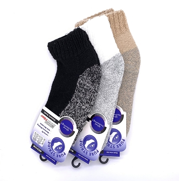 Pure Stride QTR Length Socks