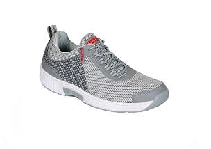 Edgewater 618 Men's Orthotic Sneaker Gray