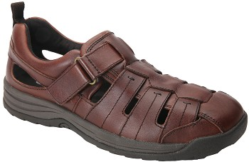 Dublin Brandy Smooth Sandal 47717-83