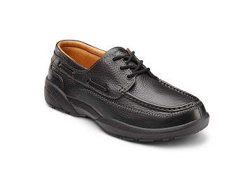 Dr. Comfort Men's Patrick Black