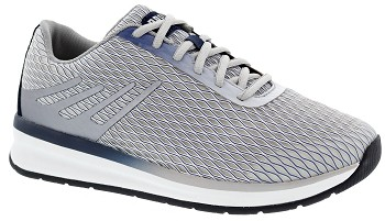 Thrust Leather/Mesh Grey/Navy
